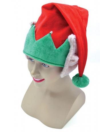 Pluche kerst elfen muts met oren