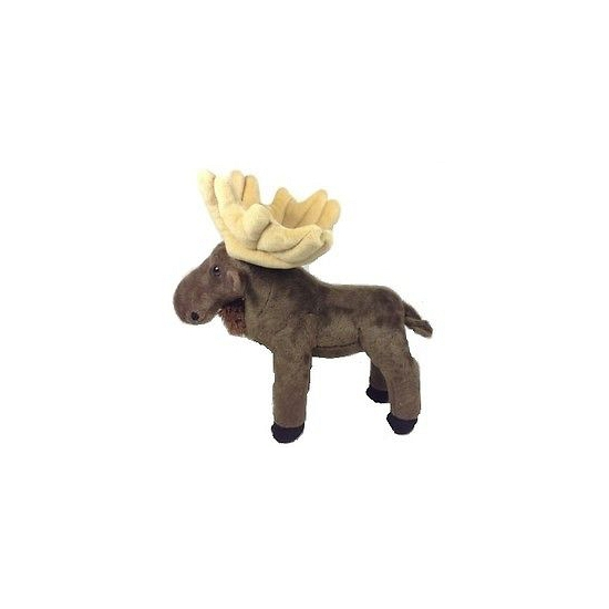Pluche knuffel bruine eland 20 cm