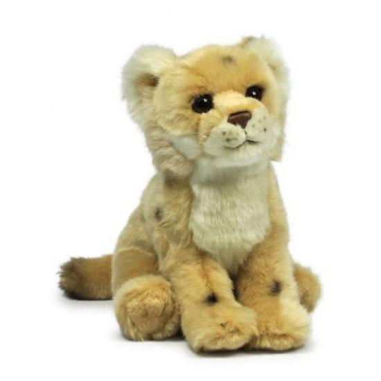 Pluche leeuwin knuffel WNF 23 cm
