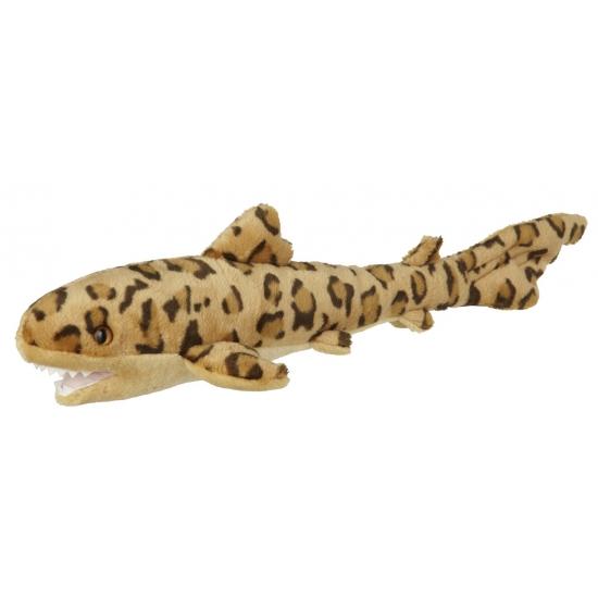 Pluche luipaard haai knuffel 60 cm