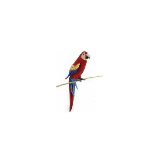 Pluche rode Ara papegaai knuffel 72 cm