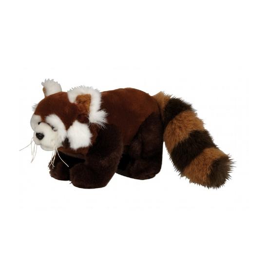 Pluche rode panda knuffel 20 cm (bron: Feestartikelen-winkel)