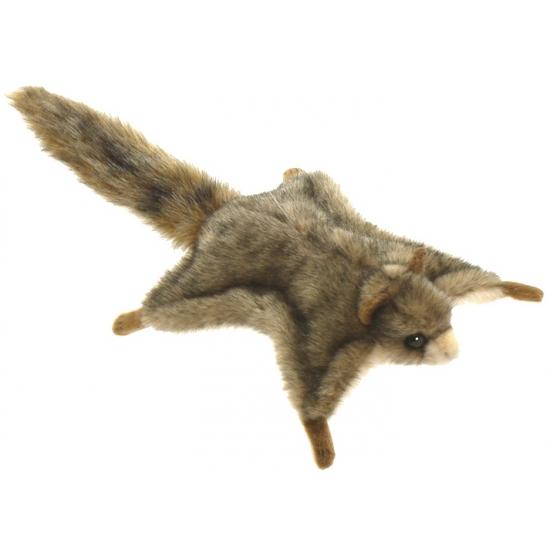 Pluche vliegende eekhoorn 21 cm
