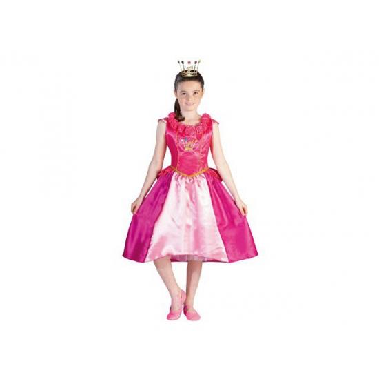 Roze Prinsessia Roos jurk voor meiden