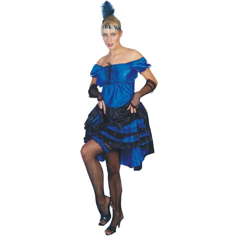 Salsa jurk blauw