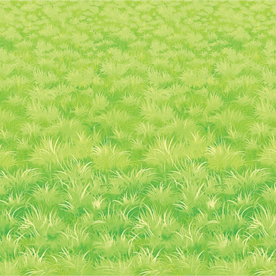 Scenesetter groen gras 9 meter