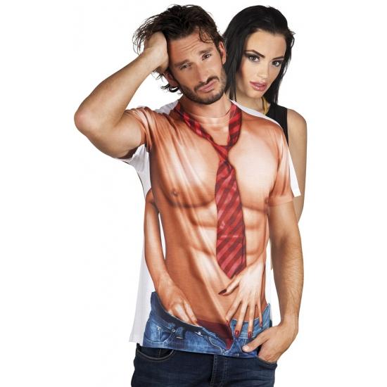 Shirt met naakte man opdruk (bron: Feestartikelen-winkel)