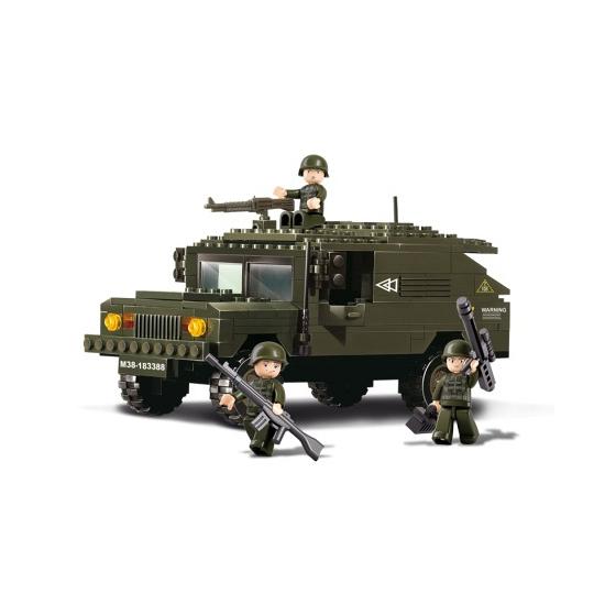 Sluban leger terreinwagen