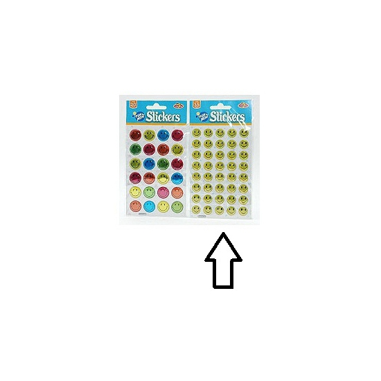 Smiley stickers 40 stuks