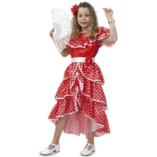 Spaanse jurk voor meisjes (bron: Feestartikelen-winkel)