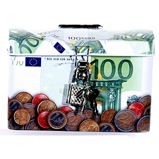 Spaarpot 100 euro biljet