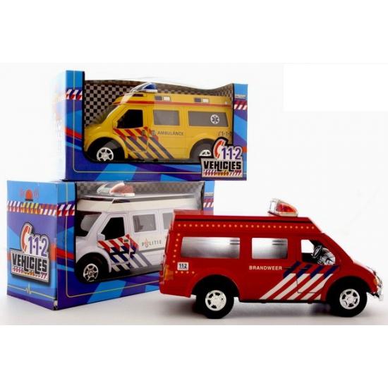 Speelgoed brandweerauto