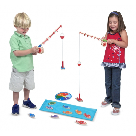 Speelgoed magneet vissen