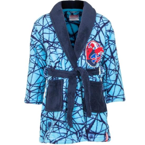 Spiderman badjas blauw