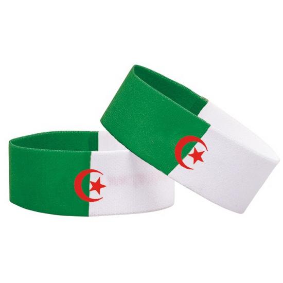 Supporter armband Algerije