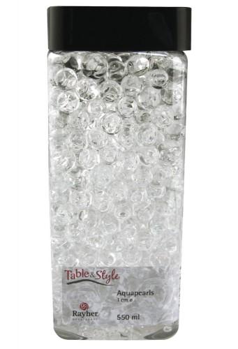 Transparante aqua pearls 1 cm