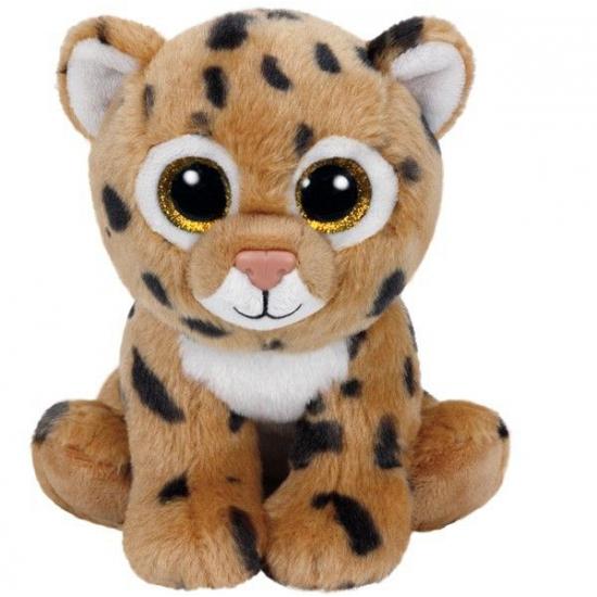 Ty Beanie knuffel luipaard 15 cm