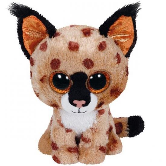 Ty Beanie knuffel lynx 15 cm