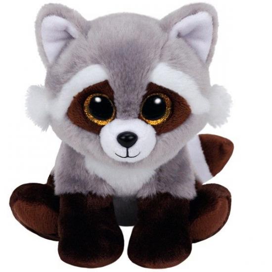 Ty Beanie knuffel wasbeer 15 cm