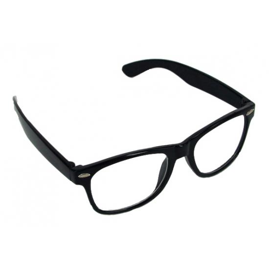 Verkleed bril zwart