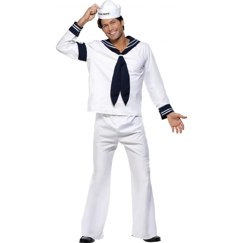 Navy kostuum van de village people. ga nu compleet naar een verkleedfeest met vrienden! alle figuren van de ...