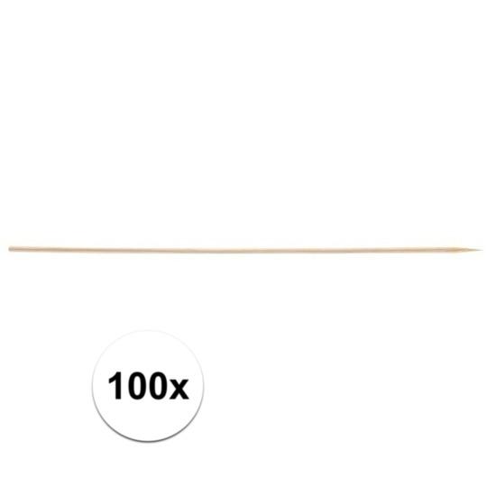 100x Sate prikkers 20 cm