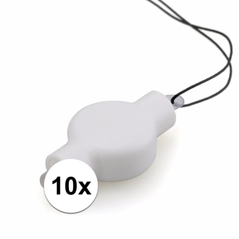 10x lampion LED lampjes