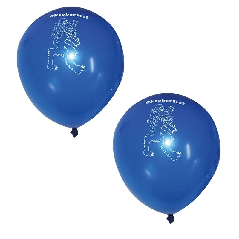 12x Oktoberfest ballonnen