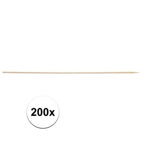 200x Sate prikkers 20 cm