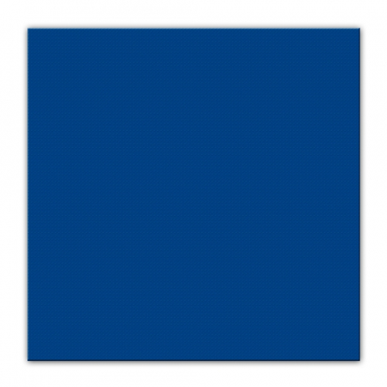 25 donkerblauwe servetten 33 x 33 cm