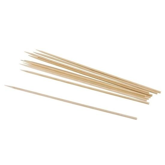25x Sateprikkers bamboe 20 cm