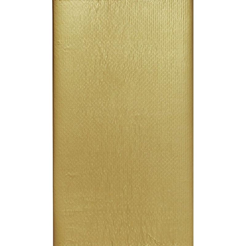 2x Goudkleurige tafelkleden/tafellakens 138 x 220 cm