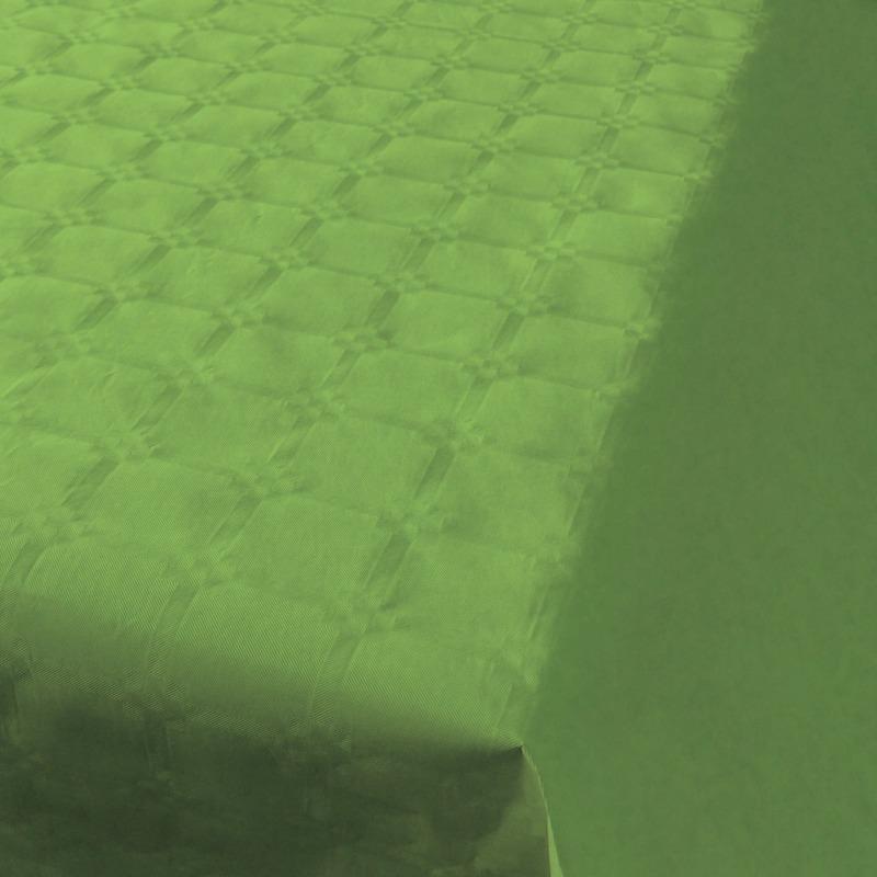 2x Lichtgroen papieren tafellakens/tafelkleden 800 x 118 cm