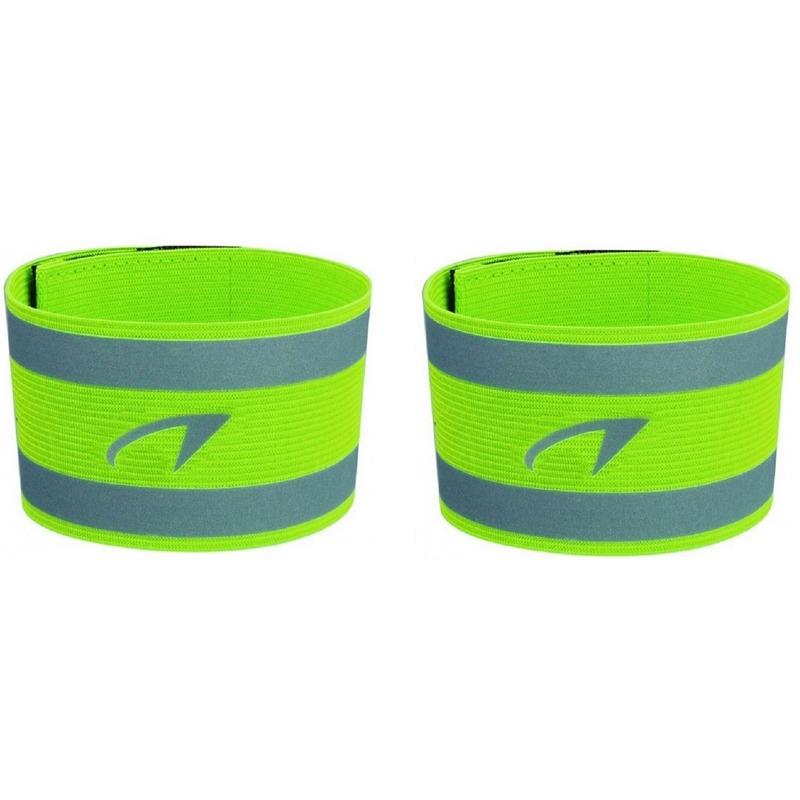 2x Reflecterende sport armbanden