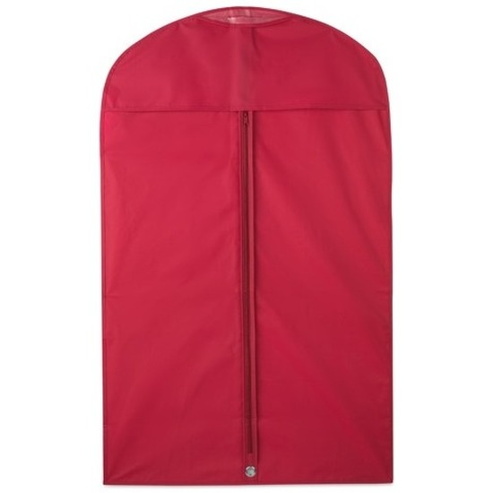 2x Rode kledinghoezen 100 x 60 cm