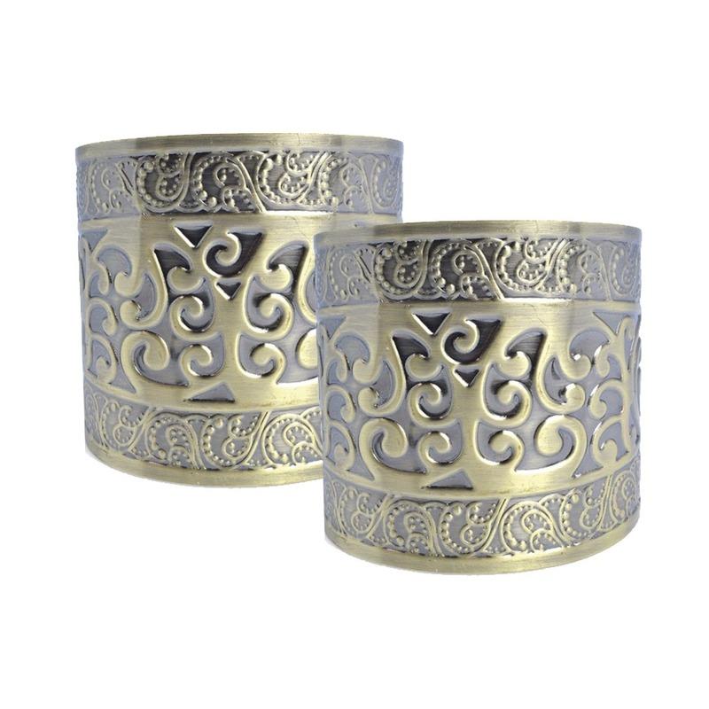 2x Romeinse armbanden van goud