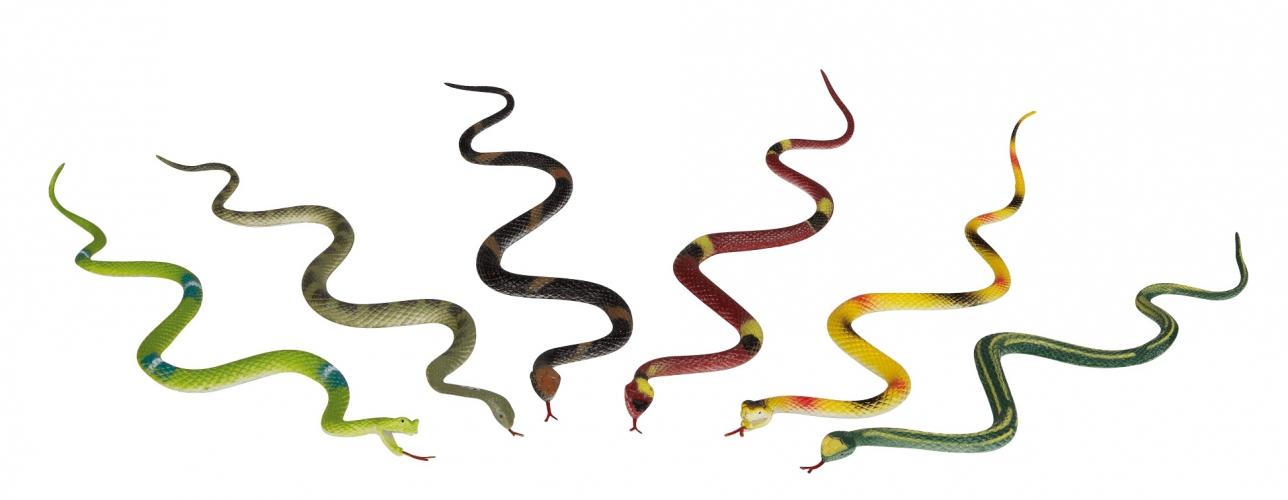 2x stuks plastic slangen van 35 cm