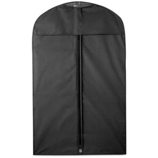 2x Zwarte kledinghoezen 100 x 60 cm