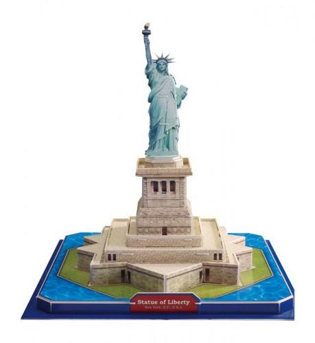 3D Vrijheidsbeeld puzzel 21 x 21 x 26 cm