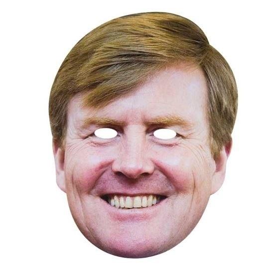 3x Koning Willem-Alexander masker voor volwassenen