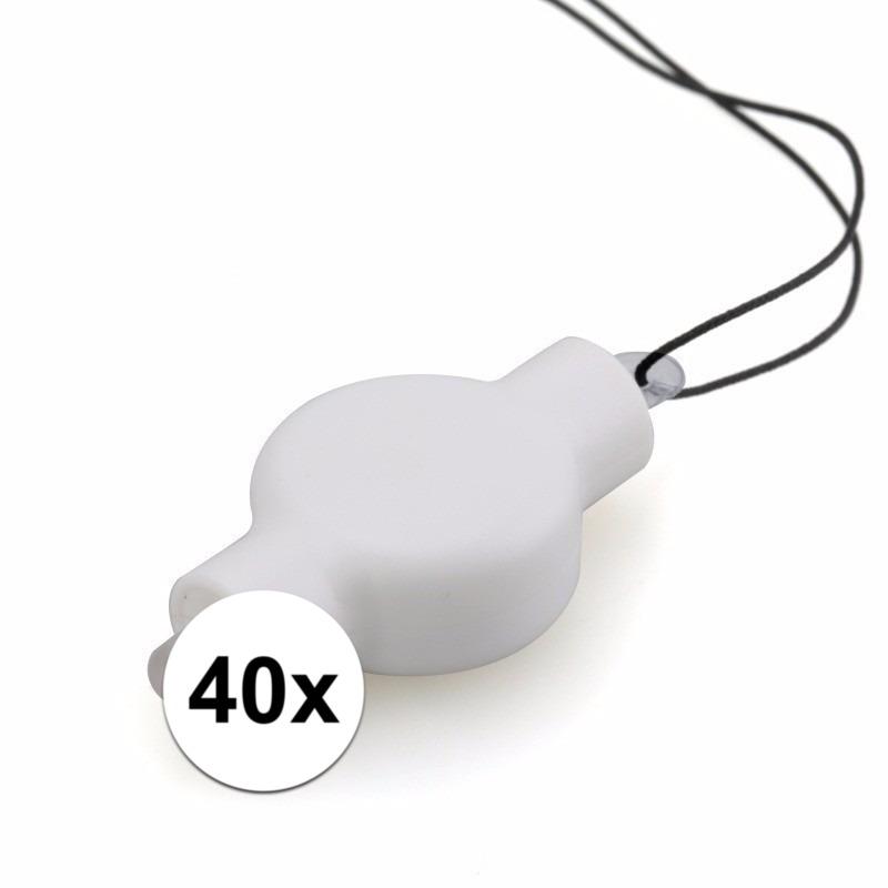 40x lampion LED lampjes