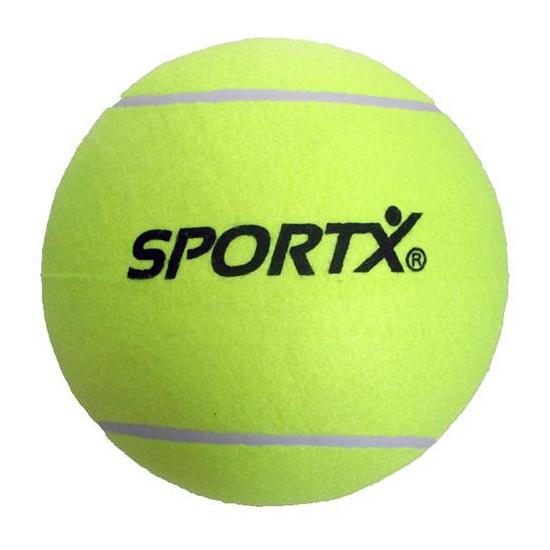 4x stuks Jumbo super grote tennisballen XXL