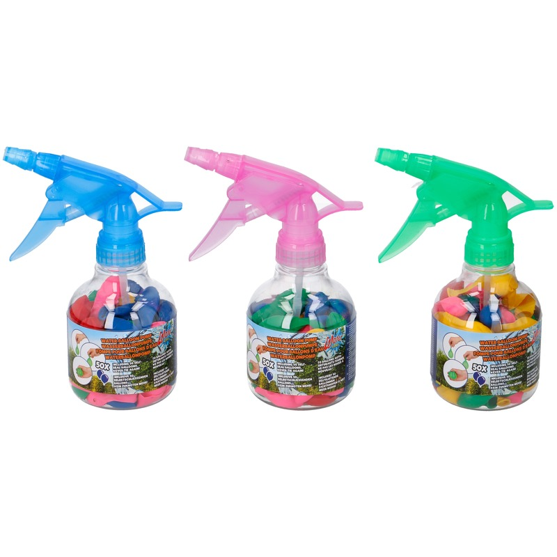 50x Zelfsluitende waterballonnen met pompje