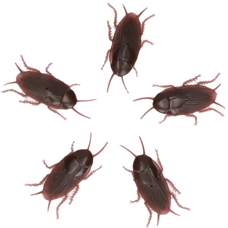 5x Nep ongedierte kakkerlakken