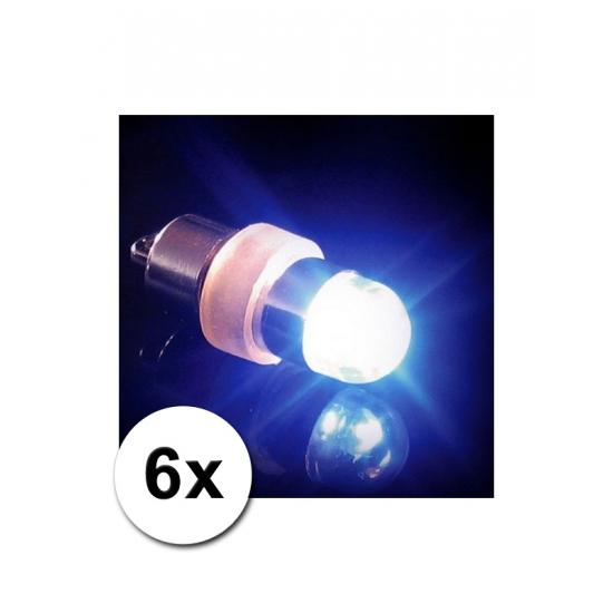 6 ballon LED lichtjes
