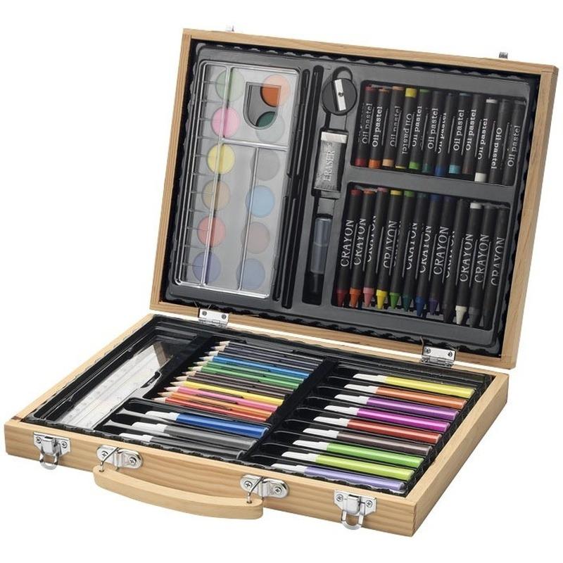 67-delige potloodset - potloden koffer