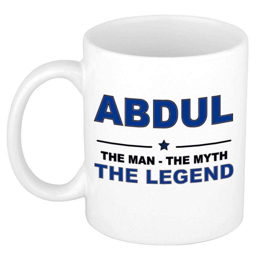 Abdul The man, The myth the legend cadeau koffie mok - thee beker 300 ml