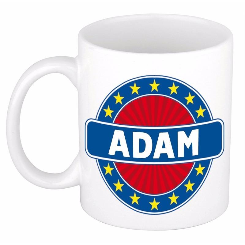Adam naam koffie mok - beker 300 ml
