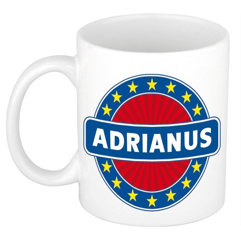 Adrianus naam koffie mok - beker 300 ml