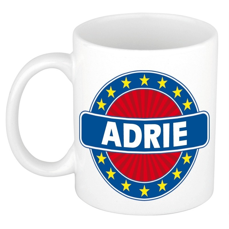 Adrie naam koffie mok - beker 300 ml